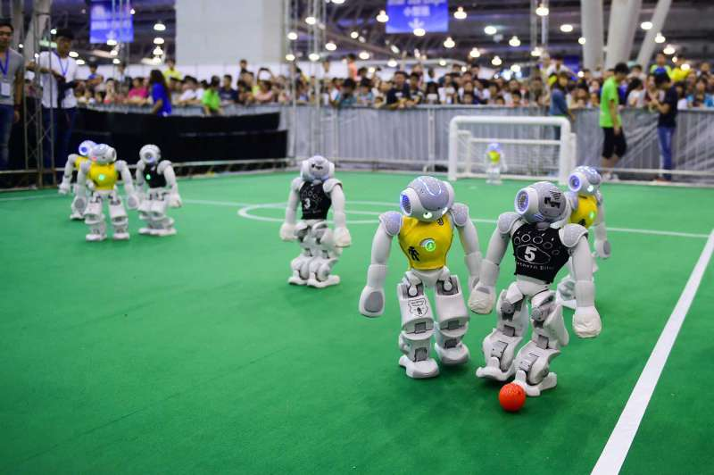 RoboCup Voetbal